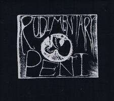 New RUDIMENTARY  'Death's Head Foetus'  black fabric patch - PUNK!