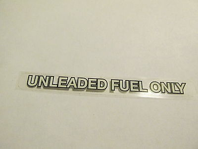 """Chevy Nova /""""UNLEADED FUEL ONLY/"""" Original Graphic Decal Replacement Sticker"""
