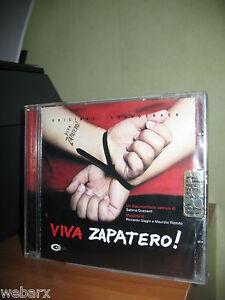 VIVA-ZAPATERO-CD-NUOVO-SIGILLATO-COLONNA-SONORA-GIAGNI-RIZZUTO-GUZZANTI