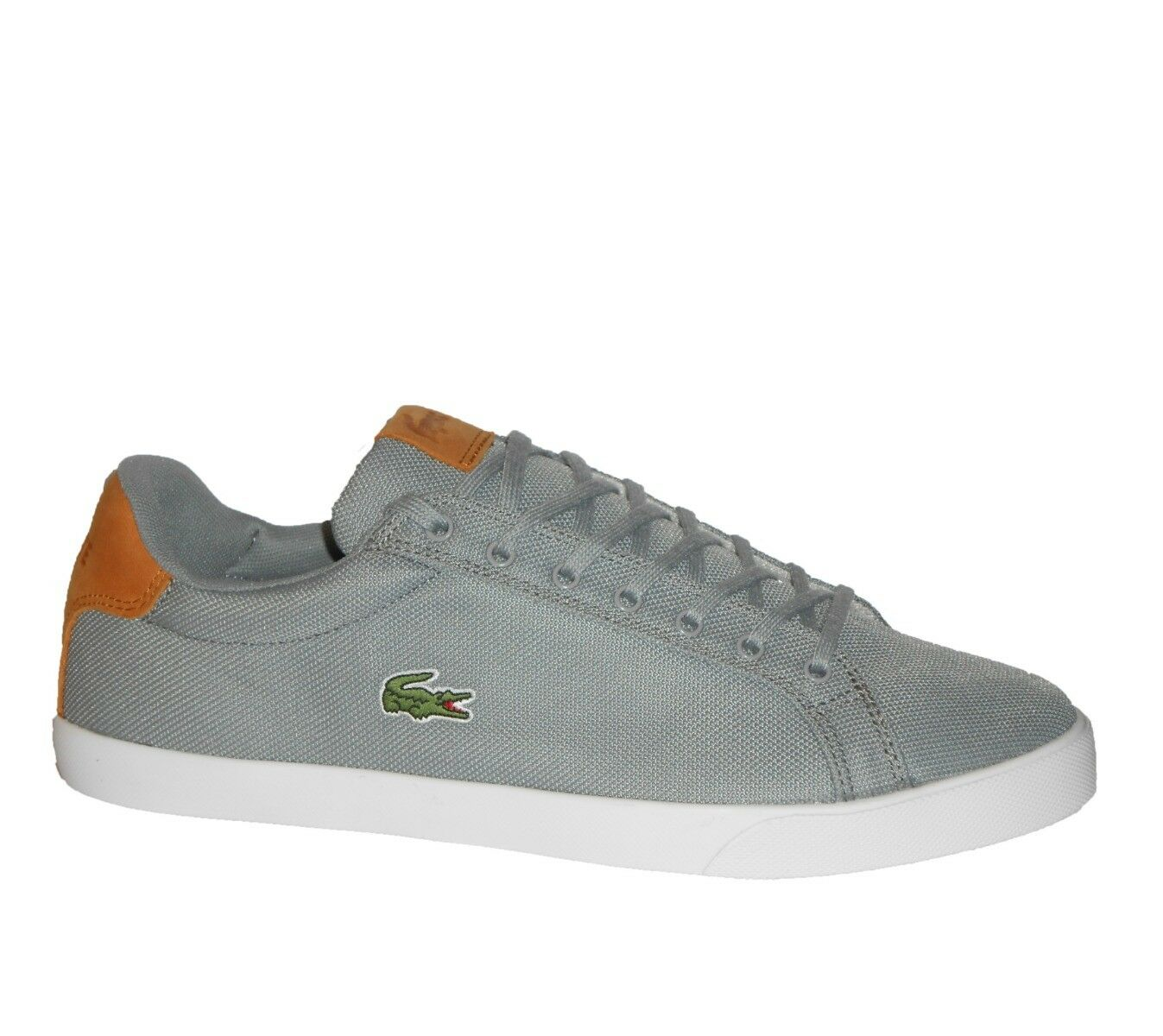 Lacoste GRAD VULC S316 3 SPM Homme TRAINER Chaussures Taille 7 - 9.5 Gris    80/-