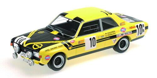 1 43 Opel Commodore n°10 Spa 1970 1 43 • MINICHAMPS 400704600