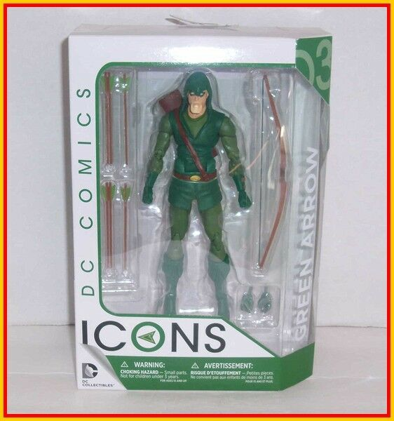 DC COLLECTIBLES COMICS ICONS - 6  GREEN ARROW - Universe Classics Direct