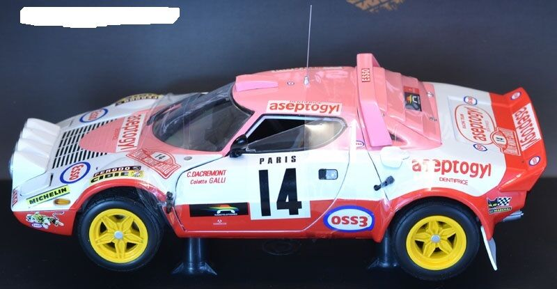 Lancia Stratos  Rally  Montevoiturelo 1977 1 18 4518  SUNSTAR  prix bas tous les jours