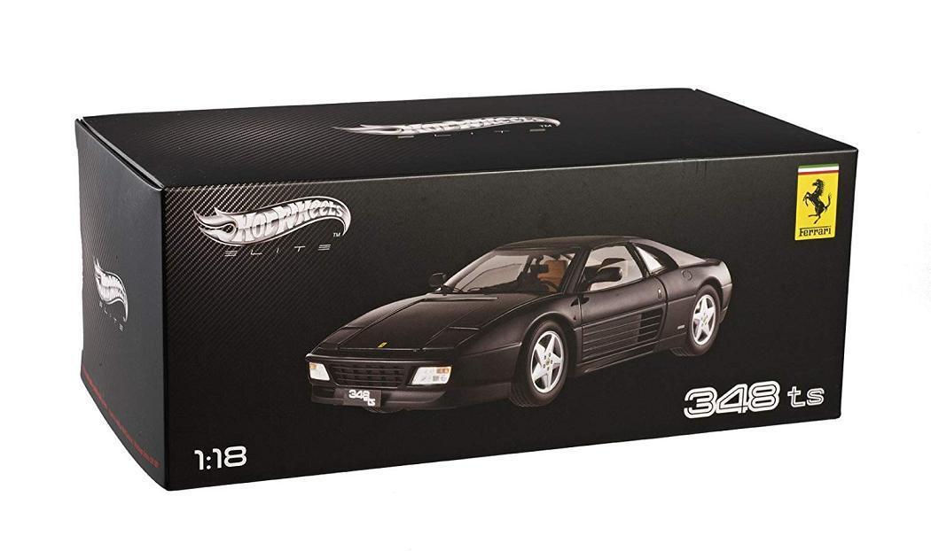 1 18 Hot Wtalons Ferrari 348 TS  Elite Edition Diecast Voiture Modèle Noir X5481  jusqu'à 60% de réduction