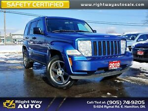 2010 Jeep Liberty Sport | 4X4 | SAFETY CERTIFIED