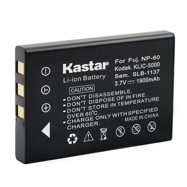 5000 Cargador de Batería para KODAK EasyShare X7590 DX7630 LS443 LS743 LS753 Nuevo KLIC