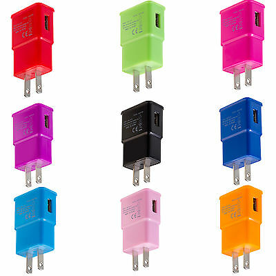 2.0 Amp AC USB Wall Charger Adapter For Samsung Galaxy S5 S4 S3 Note Note2 Note3