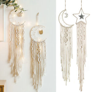 45-039-039-Macrame-Wall-Hanging-Tapestry-Woven-Handmade-BOHO-Chic-Craft-Art-Home-Decor