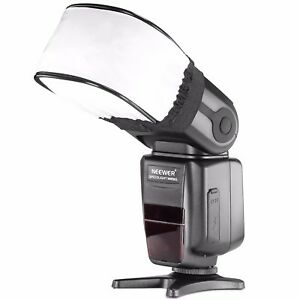 UK Neewer Universal Speedlite Flash Bounce Diffuser Softbox Cap for Canon Nikon