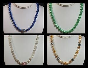 Vintage-Style-Coloured-Glass-Faux-Pearl-Necklace