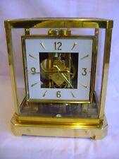 RARE 1958 SQ DIAL JAEGER LECOULTRE ATMOS CLOCK CALIBER 528-6  FULLY SERVICED