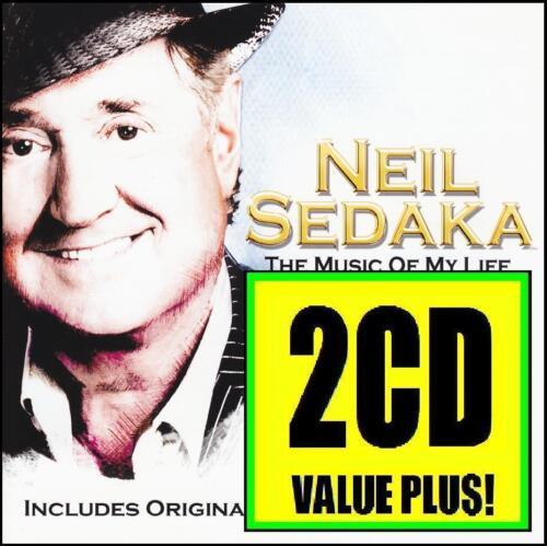 1 of 1 - NEIL SEDAKA (2 CD) THE MUSIC OF MY LIFE + GREATEST HITS ~ 70's POP MOR *NEW*