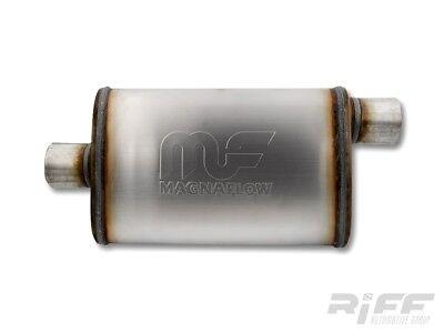 """Magnaflow Universal Performance Schalldämpfer 2,5/"""" Edelstahl Ford Dodge Chevy"""