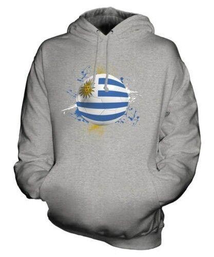 Uruguay Football Sweat à Capuche Unisexe Haut Cadeau Coupe Du Monde Sport