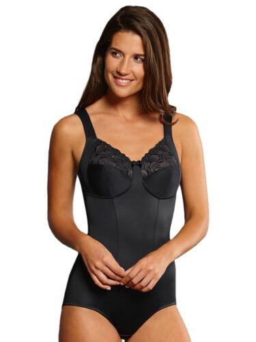 Full Figure Non-wired Comfort Corselette Lucia by Anita 3523 34-48 B-F Black