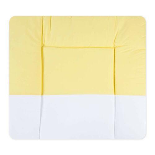 Wickelauflage Wickeltischunterlage Wickelauflage gelb 73x85 cm Little Bear