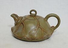 Chinese  Ceramic  Teapot  With  Studio  Mark     M1793