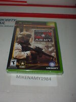 America's Army: Rise Of A Soldier Game Microsoft Xbox Or Xbox 360 - Sealed