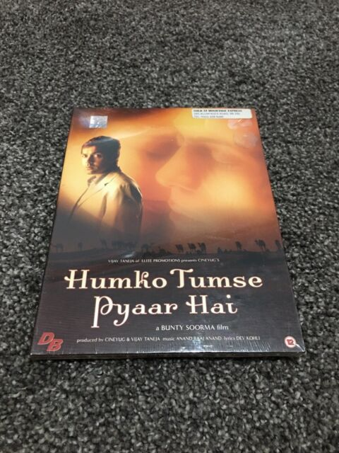 Humko Tumse Pyaar Hai - Bollywood DVD - Bobby Deol, Arjun Rampal & Amisha Patel