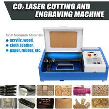 Ridgeyard 40w Co2 Laser Engraver Usb Cutting Machine Crafts Cutter 300x200mm