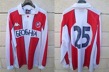 Maillot porté ETOILE ROUGE BELGRADE RED STAR BEOGRAD FK Crvena zvezda worn shirt