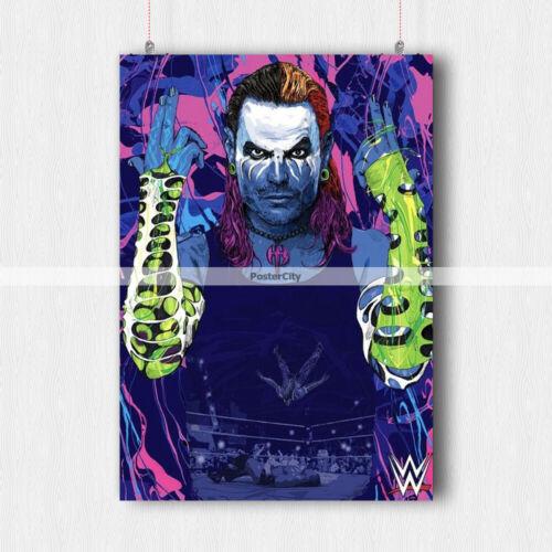 WWE JEFF HARDY POSTER PRINT WALL ART SIZE-A3 A4