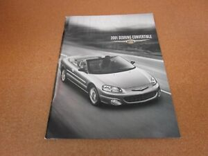 2001 chrysler sebring convertible sales brochure dealer literature 36 page ebay ebay