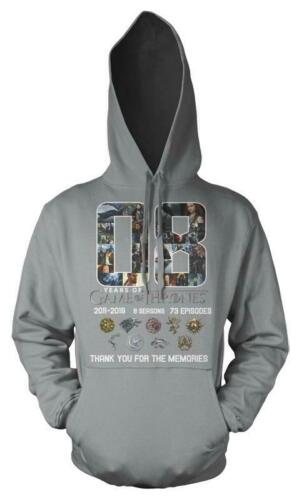 Game Of Thrones 8 Seasons Thank You For The Memories Adult Hoodie