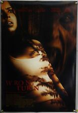 WRONG TURN DS ROLLED ORIG 1SH MOVIE POSTER HILLBILLY HORROR (2003)
