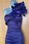 Karen-Millen-UK-10-Purple-Satin-Rose-Corsage-One-Shoulder-Wiggle-Cocktail-Dress thumbnail 6