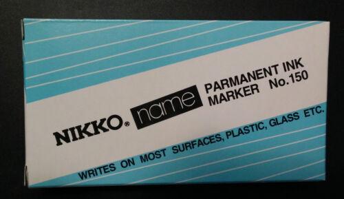 Nikko nom Noir Marqueur permanent
