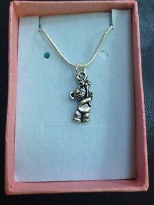 Teddy-Bear-Pendant-Necklace