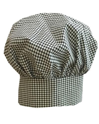 Poplin Chef Hat Adult Adjustable Baker Kitchen Cooking Chef Cap Mushroom hat NEW