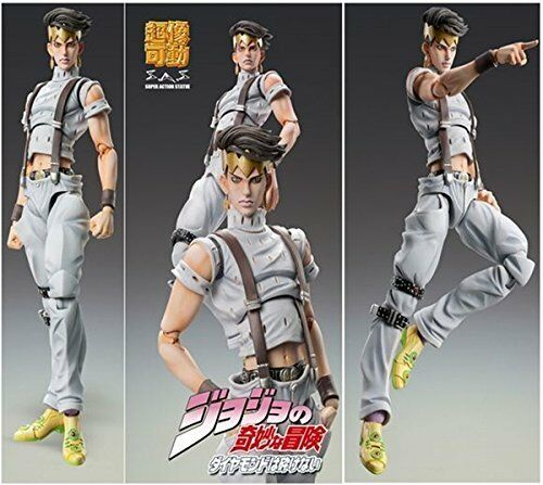 Super Figure JoJo's Bizarre Adventure Part 4 80. Rohan Kishibe Ver.3 16cm Japan