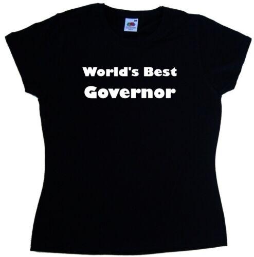 WORLD/'S BEST governatore DONNA T-SHIRT