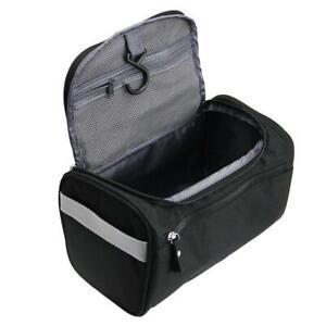 Travelmore Beauty Case Uomo Donna Da Viaggio Per Igiene Personale Con Nero