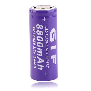 1pc-3-7V-26650-8800mAh-Li-Ionen-Akku-f-r-LED-Taschenlampe-QA