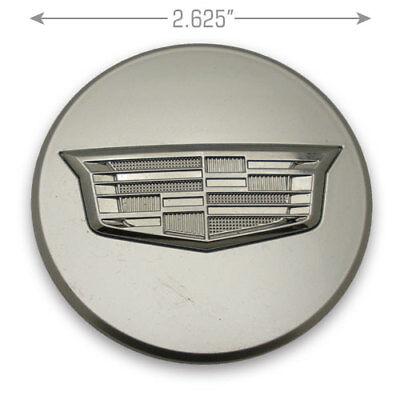 "4X Wheel Center Hub Cap Covers Fit Cadillac ATS CTS DTS SRX XT5 CT6 XLR 2.5/"""