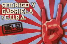 RODRIGO Y GABRIELLA, AREA 52 POSTER (H2)