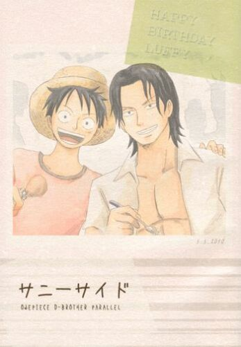 One Piece doujinshi Ace + Luffy Sunny Side UGS