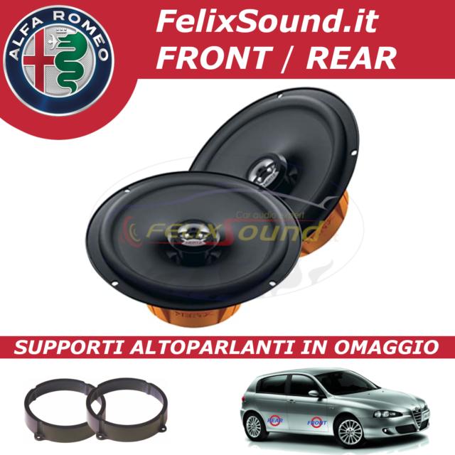 Hertz DCX 165.3 Kit Alfa Romeo 147 Front/Rear - SUPPORTI ALTOPARLANTI IN OMAGGIO