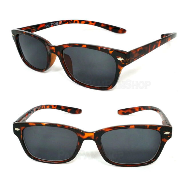 Mens Womens Retro Wayfarer Hang Neck Reading Sunglasses Sun Reader +1.00..+3.00