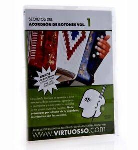 Virtuosso Curso De Acordeon De Botones DVD & CD Vol.1