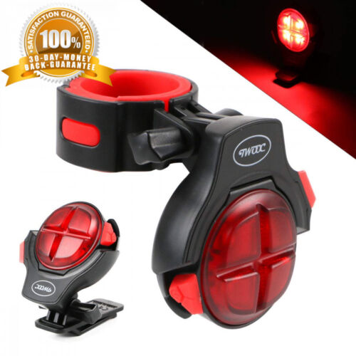 Hootracker Bike Lights LED Bicycle Taillight USB Rechargeable Bright Rear UK
