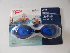 Speedo 7750271-420 Nantucket Adult Goggles Blue New