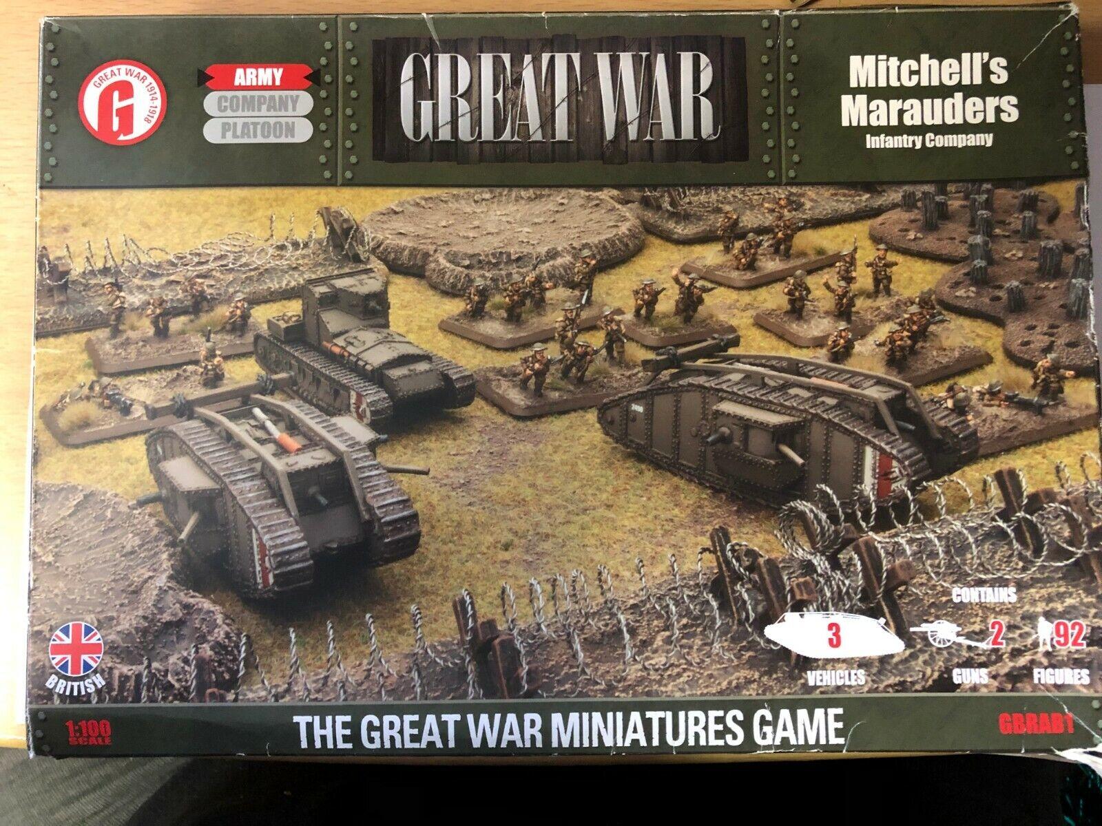 MITCHELL Marauders - Battlefront - Gbrab01 -  le Monde War I - Vieux Édition  vente d'usine en ligne discount