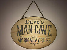 Great for man cave den etc Personalized custom engraved Baseball wood sign