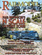 Railmodel Journal Aug.2002 Streamline Sleeper Coach Athearn SP U30C Budd UP Penn