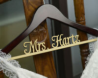 Personalized Wedding Hanger, Custom Bridal Or Bridesmaid Name Hanger Cm001