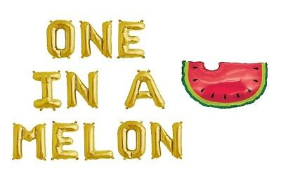 30 One in a Melon Watermelon Summer First Birthday Personalized Nugget Labels